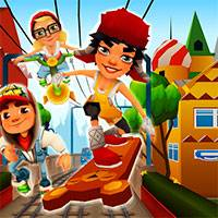 Игра Subway surfers moscow