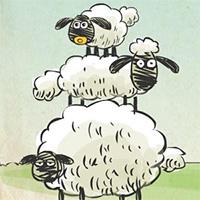 Игра 3 овечки онлайн