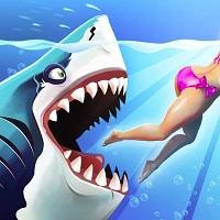 Игра Акула ест людей онлайн