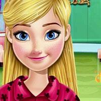 Игра Анна в парикмахерской онлайн