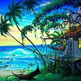 Игра Бабуля на островах онлайн