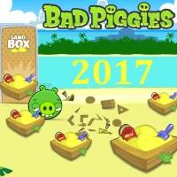 Игра Bad piggies 2017
