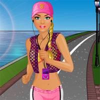 Игра Барби 10: пробежка онлайн