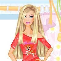Игра Барби учит готовить еду онлайн