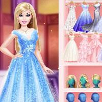 Игра Барби и хрустальный замок онлайн