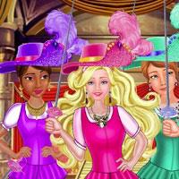 Игра Барби и три мушкетера онлайн