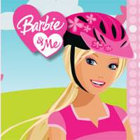 Игра Барби катается на велосипеде онлайн