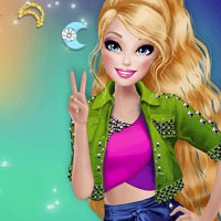 Игра Барби - Королева вечеринки онлайн
