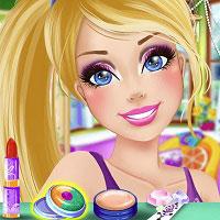 Игра Барби макияж онлайн