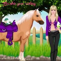 Игра Барби на лошадях онлайн