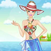 Игра Барби на пляже онлайн