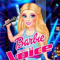 Игра Барби на Шоу Голос онлайн