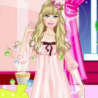 Игра Барби: Пижамная вечеринка онлайн