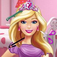 Игра Прически Барби онлайн