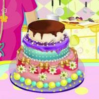 Игра Барби торт онлайн