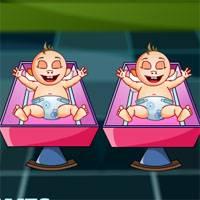 Игра Барби уход за малышами онлайн