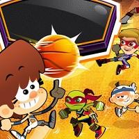 Игра Баскетбол на троих онлайн