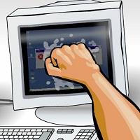 Игра Бить компьютер онлайн