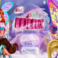 Игра Мир Винкс: Бродилка винкс! онлайн