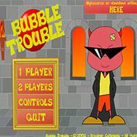 Игра Bubble Trouble