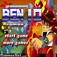 Игра Человек огонь онлайн