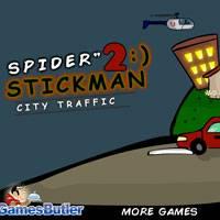 Игра Человечки пауки онлайн