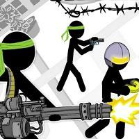 Игра Человечки война онлайн