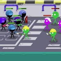 Игра Человечки зомби онлайн