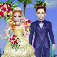 Игра День свадьбы супер принцессы онлайн