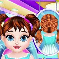 Игра Детская парикмахерская онлайн