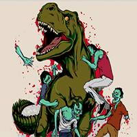 Картинки по запросу динозавры против зомби