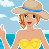 Игра Для девочек летние одевалки онлайн