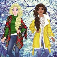 Игра Для девочек одевалки зимние онлайн