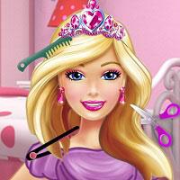 Игра Для девочек парикмахерская барби онлайн