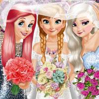 Игра Игры для девочек свадебная одевалка онлайн