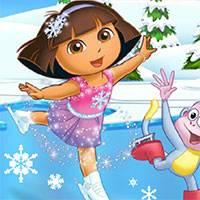 Игра Танцы на льду для девочек онлайн