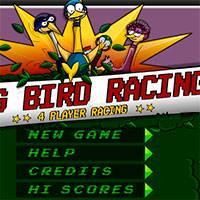 Игра Гонки птиц на троих онлайн
