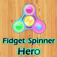 Игра Figet spinner hero онлайн