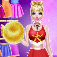 Игра Гимнастика Барби онлайн