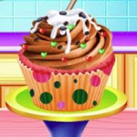 Игра Готовить кексы онлайн