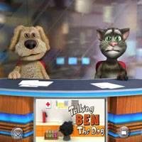 Играть в игру онлайн говорящий кот 2