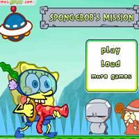 Игра Губка боб подводный охотник онлайн