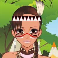 Игра Мода: Индейский Наряд онлайн