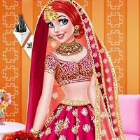 Индийские прически игры для девочек