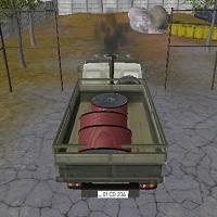 Игра Камаз с прицепом онлайн