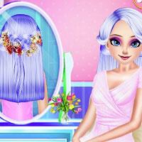 Игра Королевская парикмахерская онлайн