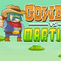 Игра Ковбой против Марсиан онлайн