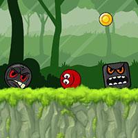 Игра Красный шар 5 онлайн