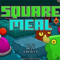 Игра Квадратная еда онлайн