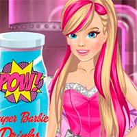 Игра Лаборатория Супер Барби онлайн
